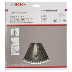 Bosch Best Serisi Hassas Kesim Çoklu Malzeme için Daire Testere Bıçağı 216*30 mm 64 Diş - Thumbnail