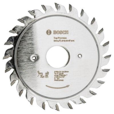 Bosch Best Serisi Hassas Kesim Lamine Panel için Ön Çizme Bıçağı 100*20 mm 12+12 Diş