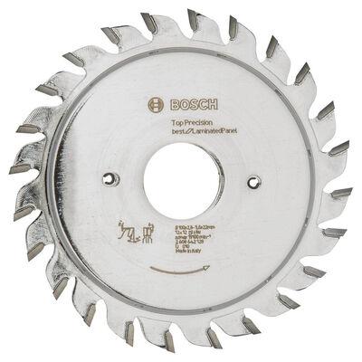 Bosch Best Serisi Hassas Kesim Lamine Panel için Ön Çizme Bıçağı 100*22 mm 12+12 Diş