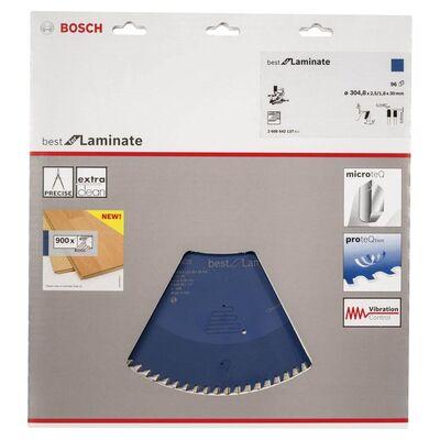 Bosch Best Serisi Laminant için Daire Testere Bıçağı 305*30 mm 96 Diş BOSCH