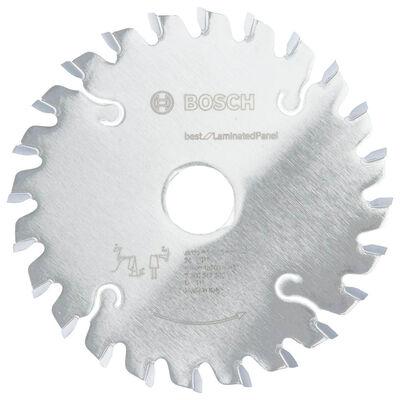 Bosch Best Serisi Lamine Panel için Konik Ön Çizme Bıçağı 125*22 mm 24 Diş