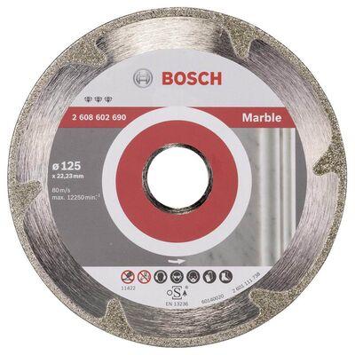 Bosch Best Serisi Mermer İçin Elmas Kesme Diski 125 mm