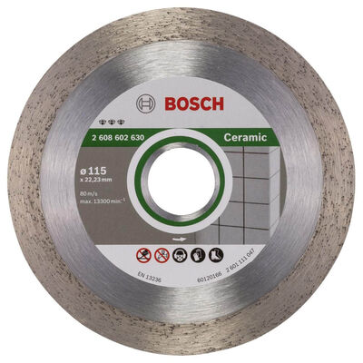 Bosch Best Serisi Seramik İçin, Elmas Kesme Diski 115 mm