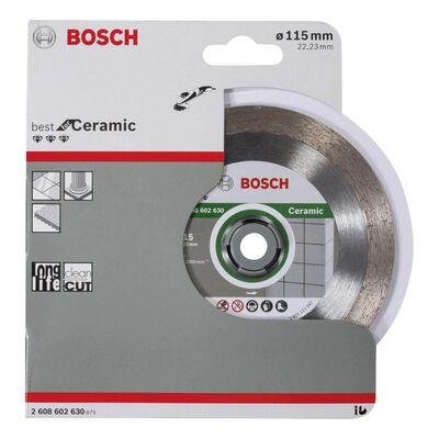 Bosch Best Serisi Seramik İçin, Elmas Kesme Diski 115 mm BOSCH
