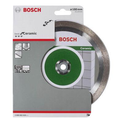 Bosch Best Serisi Seramik İçin, Elmas Kesme Diski 180 mm BOSCH
