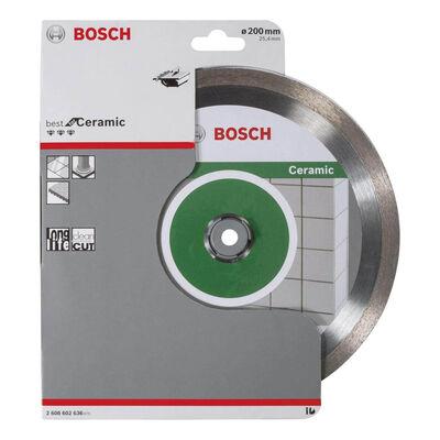 Bosch Best Serisi Seramik İçin Elmas Kesme Diski 200 mm BOSCH