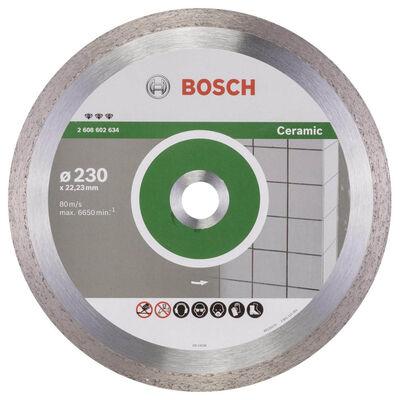 Bosch Best Serisi Seramik İçin, Elmas Kesme Diski 230 mm