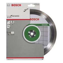 Bosch Best Serisi Seramik İçin, Elmas Kesme Diski 230 mm - Thumbnail