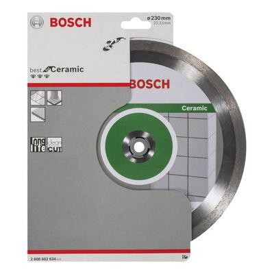 Bosch Best Serisi Seramik İçin, Elmas Kesme Diski 230 mm BOSCH