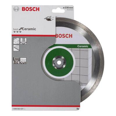 Bosch Best Serisi Seramik İçin Elmas Kesme Diski 230 mm BOSCH