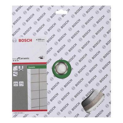 Bosch Best Serisi Seramik İçin Elmas Kesme Diski 250 mm BOSCH