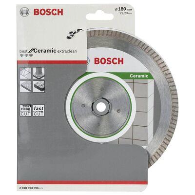 Bosch Best Serisi Seramik İçin, Extra Temiz Kesim Turbo Segman Elmas Kesme Diski 180 mm BOSCH