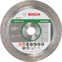 Bosch Best Serisi Seramik İçin GWS 12V-76 Uyumlu Elmas Kesme Diski 76 mm - Thumbnail