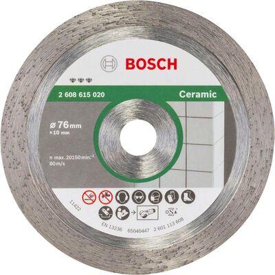 Bosch Best Serisi Seramik İçin GWS 12V-76 Uyumlu Elmas Kesme Diski 76 mm