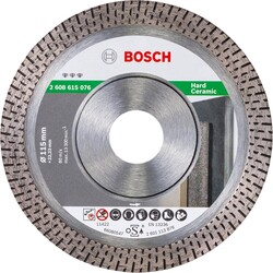 Bosch Best Serisi Sert Seramikler İçin Elmas Kesme Diski 115 mm - Thumbnail