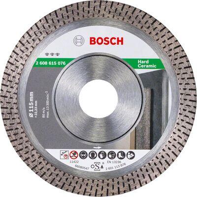 Bosch Best Serisi Sert Seramikler İçin Elmas Kesme Diski 115 mm