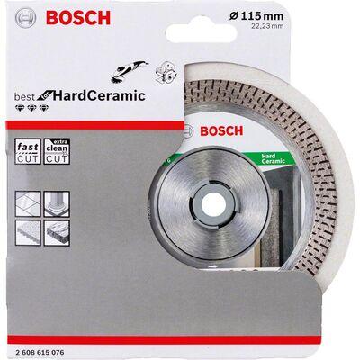 Bosch Best Serisi Sert Seramikler İçin Elmas Kesme Diski 115 mm BOSCH