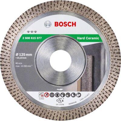 Bosch Best Serisi Sert Seramikler İçin Elmas Kesme Diski 125 mm