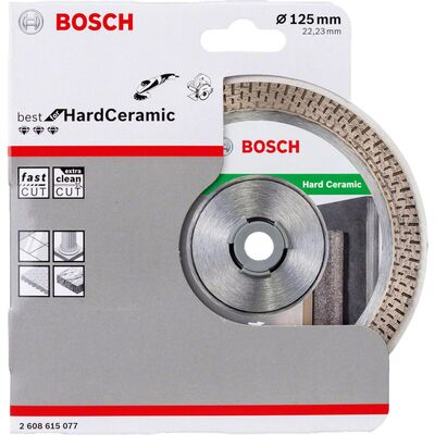 Bosch Best Serisi Sert Seramikler İçin Elmas Kesme Diski 125 mm BOSCH