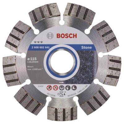 Bosch Best Serisi Taş İçin Elmas Kesme Diski 115 mm