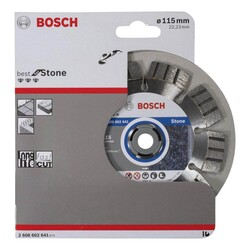 Bosch Best Serisi Taş İçin Elmas Kesme Diski 115 mm - Thumbnail