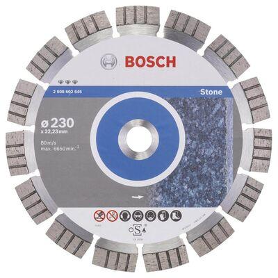 Bosch Best Serisi Taş İçin Elmas Kesme Diski 230 mm