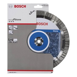 Bosch Best Serisi Taş İçin Elmas Kesme Diski 230 mm - Thumbnail