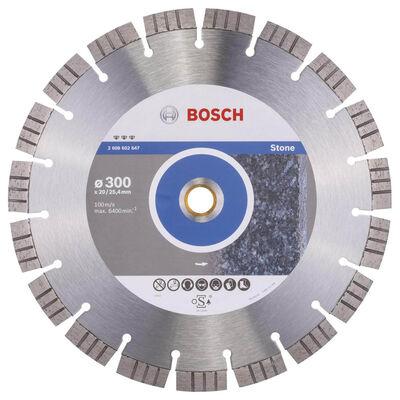 Bosch Best Serisi Taş İçin Elmas Kesme Diski 300 mm