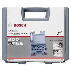 Bosch Best Serisi, Taşlama İçin Seramik Kuru Elmas Delici 14/25/35 mm 3 Parça Set - Thumbnail
