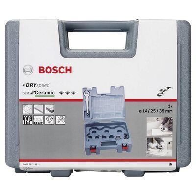 Bosch Best Serisi, Taşlama İçin Seramik Kuru Elmas Delici 14/25/35 mm 3 Parça Set BOSCH