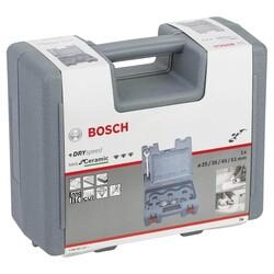 Bosch Best Serisi, Taşlama İçin Seramik Kuru Elmas Delici 25/35/45/51 mm 4 Parça Set - Thumbnail