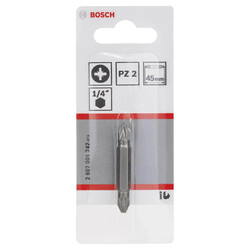 Bosch Çift Taraflı Vidalama ucu PZ2xPZ2*45 mm 1'li - Thumbnail