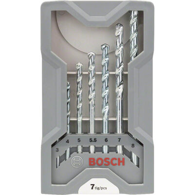 Bosch cyl-1 Taş Matkap Ucu Seti 7 Parça BOSCH