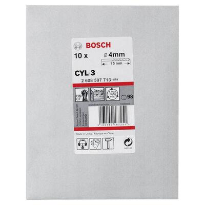 Bosch cyl-3 Serisi, Beton Matkap Ucu 4*75 mm 10'lu Paket BOSCH