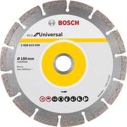 Bosch Ekonomik Seri 9+1 Genel Yapı Malzemeleri İçin Elmas Kesme Diski 180 mm - Thumbnail