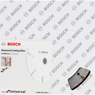 Bosch Ekonomik Seri 9+1 Genel Yapı Malzemeleri İçin Elmas Kesme Diski 180 mm BOSCH