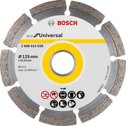 Bosch Ekonomik Seri Genel Yapı Malzemeleri İçin Elmas Kesme Diski 125 mm - Thumbnail