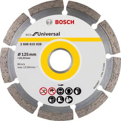 Bosch Ekonomik Seri Genel Yapı Malzemeleri İçin Elmas Kesme Diski 125 mm