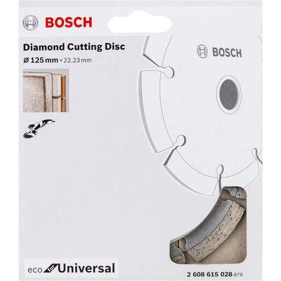 Bosch Ekonomik Seri Genel Yapı Malzemeleri İçin Elmas Kesme Diski 125 mm BOSCH