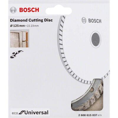 Bosch Ekonomik Seri Genel Yapı Malzemeleri İçin Elmas Kesme Diski 125 mm Turbo BOSCH