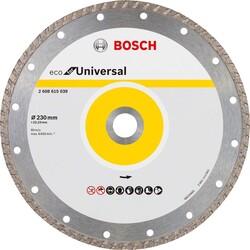 Bosch Ekonomik Seri Genel Yapı Malzemeleri İçin Elmas Kesme Diski 230 mm Turbo - Thumbnail