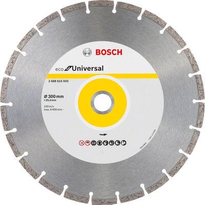 Bosch Ekonomik Seri Genel Yapı Malzemeleri İçin Elmas Kesme Diski 300 mm