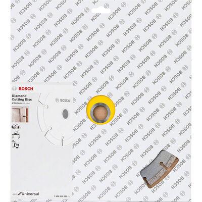 Bosch Ekonomik Seri Genel Yapı Malzemeleri İçin Elmas Kesme Diski 300 mm BOSCH