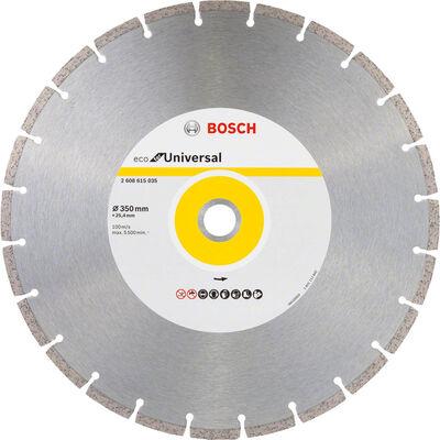 Bosch Ekonomik Seri Genel Yapı Malzemeleri İçin Elmas Kesme Diski 350 mm