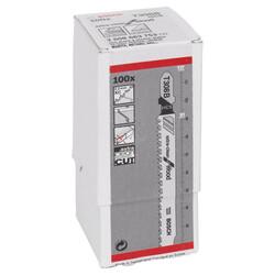 Bosch Ekstra Temiz Kesim Serisi Ahşap İçin T 308 B Dekupaj Testeresi Bıçağı - 100'Lü Paket - Thumbnail
