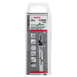 Bosch Ekstra Temiz Kesim Serisi Ahşap İçin T 308 B Dekupaj Testeresi Bıçağı - 25'Li Paket - Thumbnail