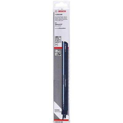 Bosch Endurance for Serisi Ağır Metaller için Panter Testere Bıçağı S 1255 CHM 10'lu BOSCH