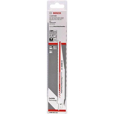 Bosch Endurance for Serisi Ahşap ve Metal için Panter Testere Bıçağı S 1167 XHM 10'lu BOSCH