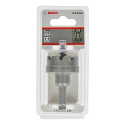 Bosch Endurance Serisi Ağır Metaller için TCT Delik Açma Testeresi (Panç) 41 mm - Thumbnail