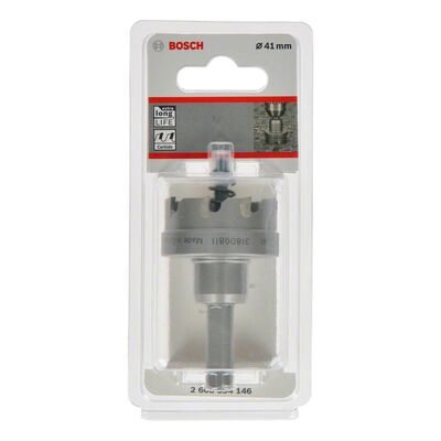 Bosch Endurance Serisi Ağır Metaller için TCT Delik Açma Testeresi (Panç) 41 mm BOSCH
